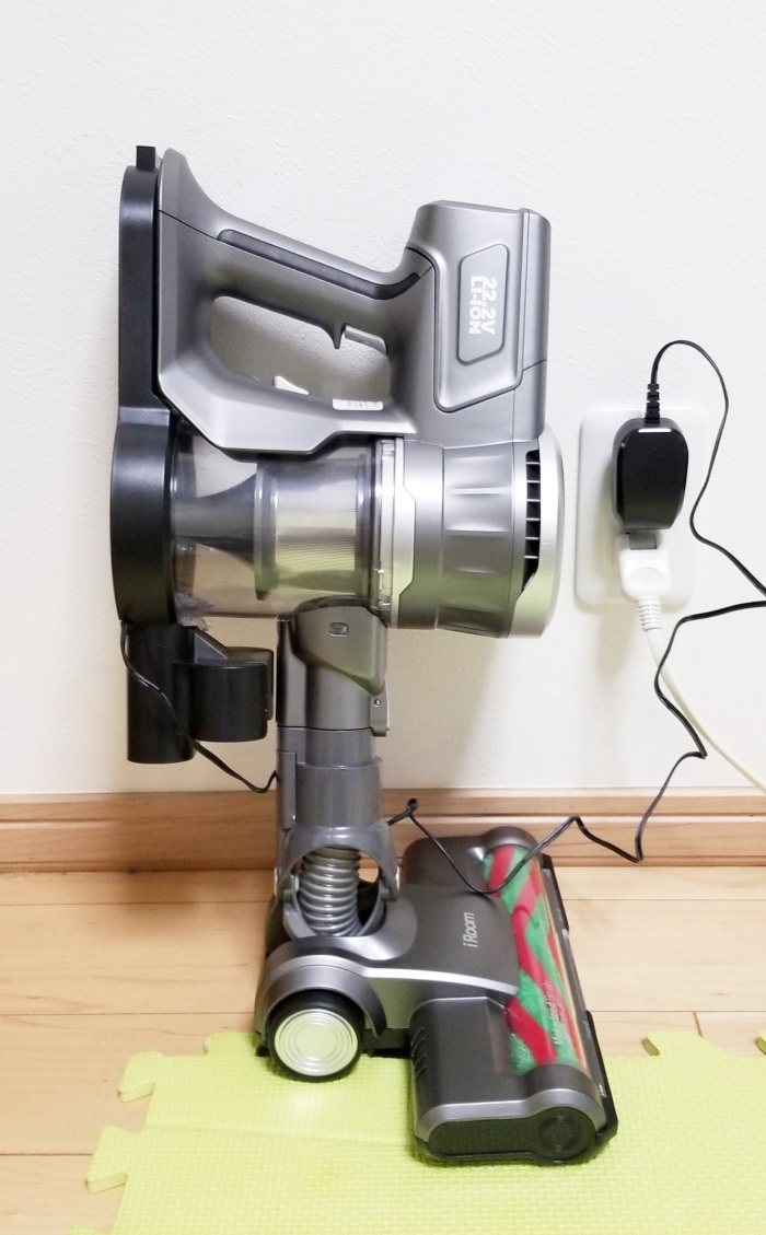 iroomコードレス掃除機D10の口コミと評判は?吸引力や騒音をレビュー!