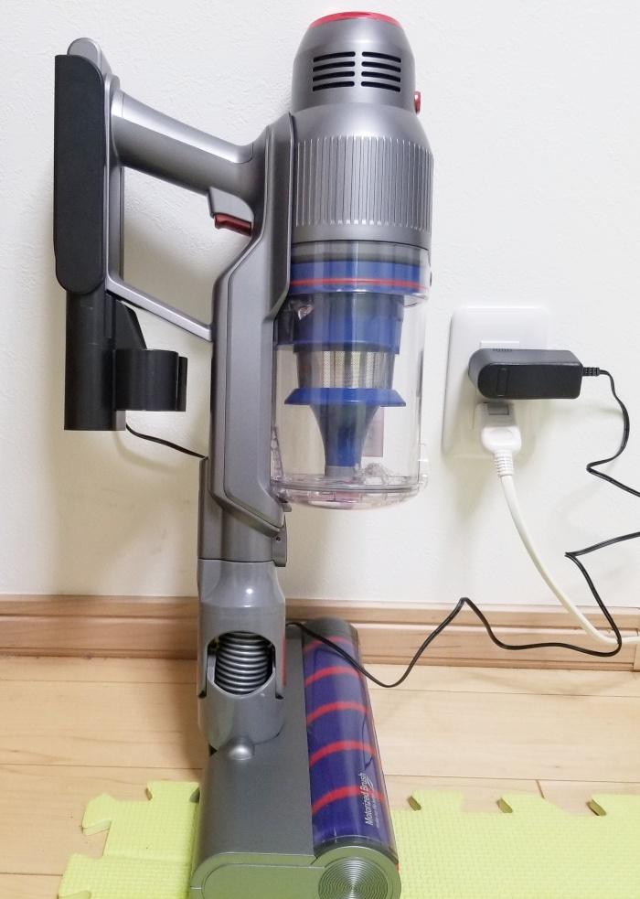 iRoomサイクロンコードレス掃除機RS1を徹底レビュー!吸引力は良いけど…?