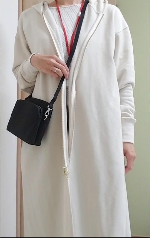 ナイロンの小さめショルダーバッグ購入レビュー!軽いしポケット多いし超万能♪