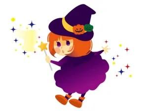 ハロウィンの衣装を手作り 魔女のスカートはミシンいらずで簡単!100均材料で作る方法