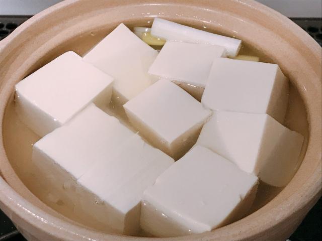 湯豆腐 レンジ 爆発
