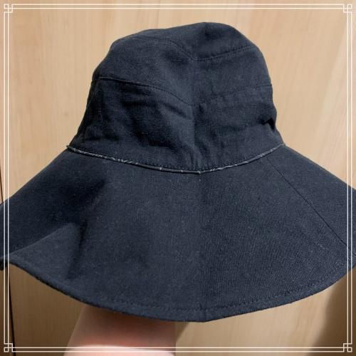 レディースつば広帽子を写真付きレビュー!リバーシブルでおしゃれに手洗いOKなUVハット