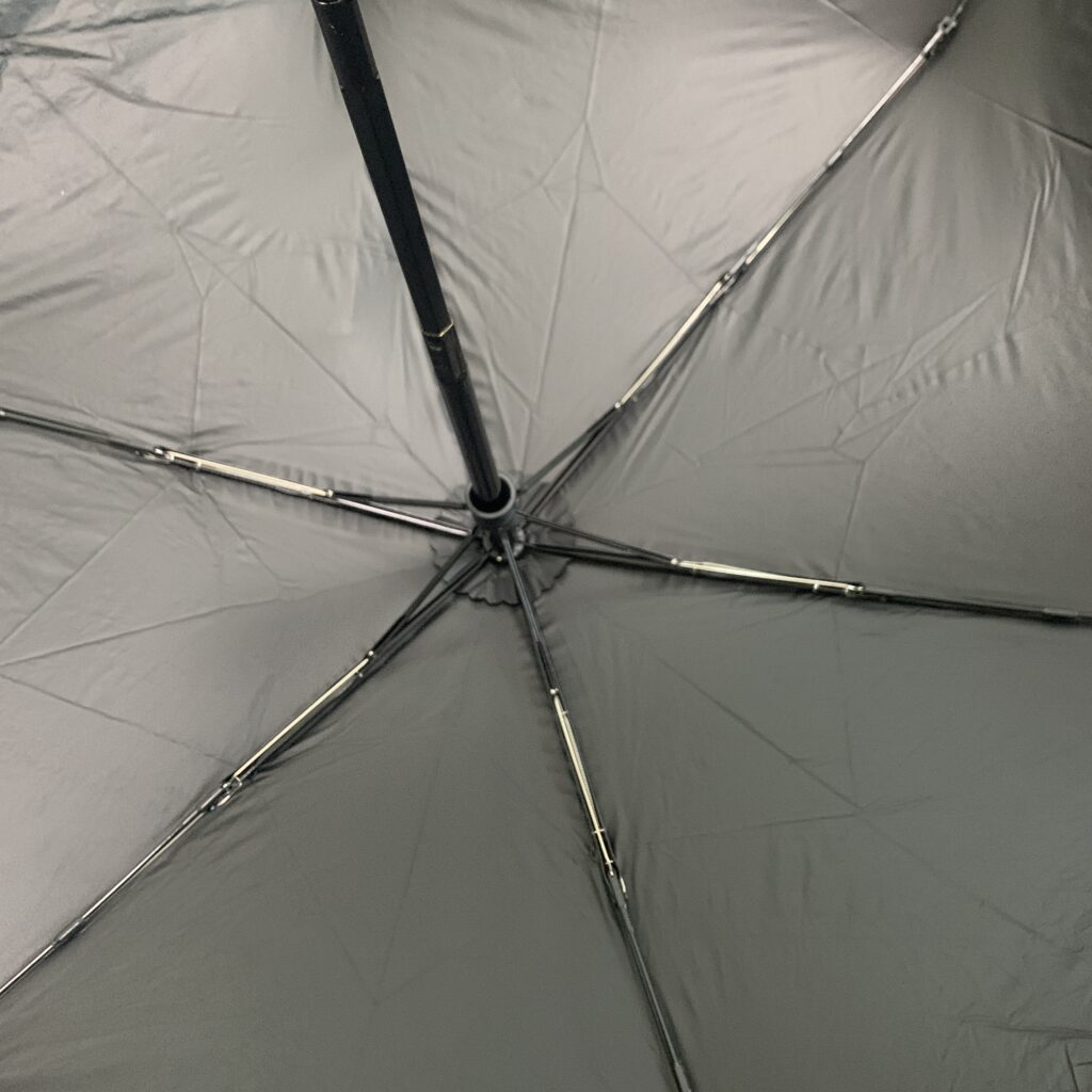 完全遮光 軽量 日傘 【送料無料】ラメプリント 軽量コンパクトミニ折りたたみ傘